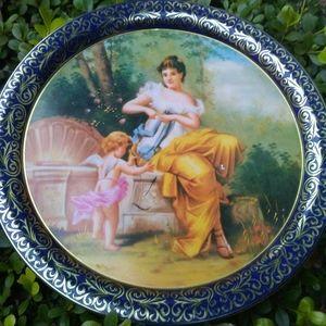 Decorative English Tin